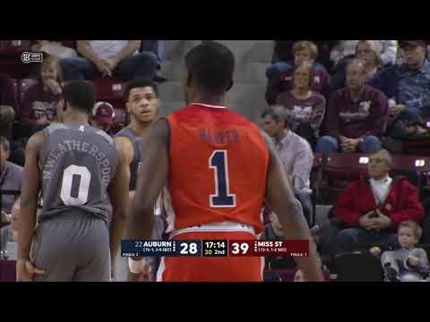 Auburn Men's Basketball vs Mississippi State Highlights