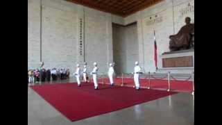 Chiang Kai-Shek Memorial Changing of the guards.