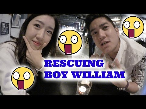 SHOPPING IN ETUDE HOUSE KOREA & RESCUING BOY WILLIAM