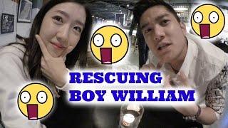 SHOPPING IN ETUDE HOUSE KOREA & RESCUING BOY WILLIAM