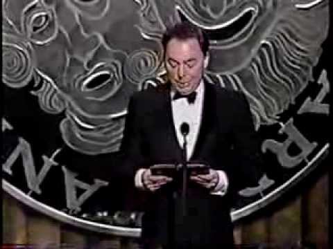 Rent wins 1996 Tony Awards for Best Musical, Score and Book of a Musical