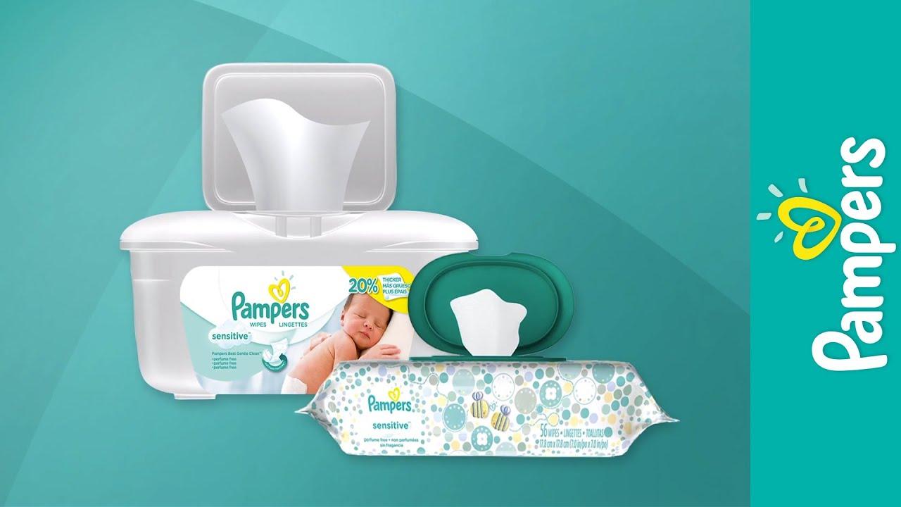 Pampers vs Huggies Sensitive Wipes