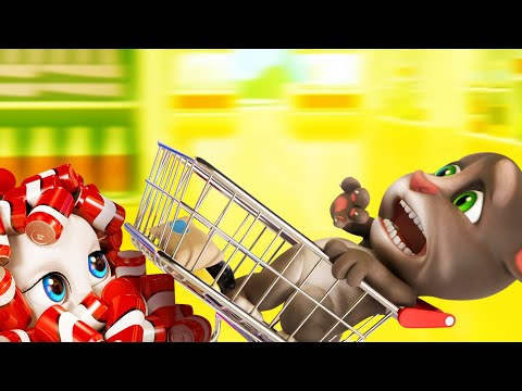 Thumbnail: Talking Tom Shorts 32 - The Last Cereal (Shopping Drift)