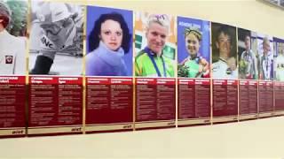 День приезда сборной России по велоспорту треку в Минск для участия в V этапе Кубка мира 2017/18