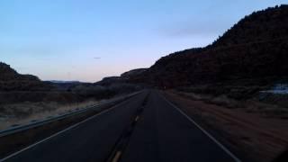 Rolling through Kanab, Utah on US Highway 89 North