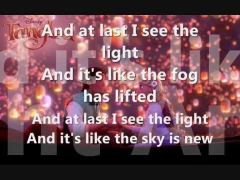 Tangled - I see the light (FULL) lyrics + download