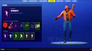 FORTNITE INTENSITY EMOTE REAL LIFE DANCE