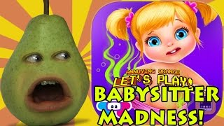 Pear is Forced to Play - Babysitter Madness!
