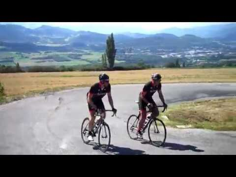 MARK and GERRY climb the Col Du Noyer in the Devoluy ,Hautes Alpes