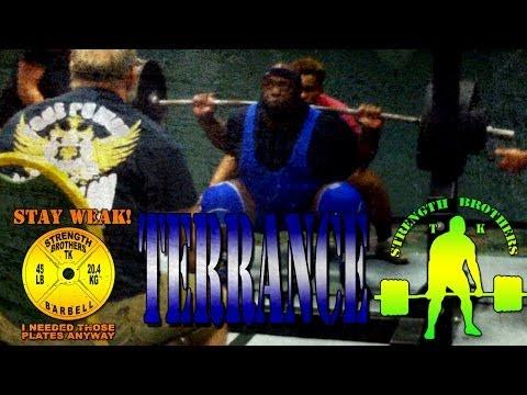 Terrance Meet Footage May 31 2014 WNPF Powerlifting 1520 Total