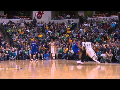 NBA 2013-14 Season Indiana Pacers Top 10 Plays