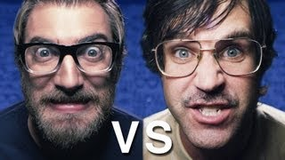 Repeat youtube video Epic Rap Battle: Nerd vs. Geek