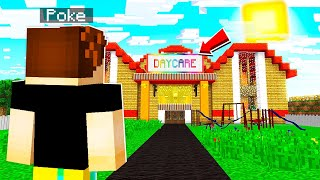 She Owned A CREEPY Daycare.. HER BASEMENT WILL SHOCK YOU! (Minecraft)