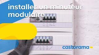 Installer un minuteur électrique modulaire (Castorama)