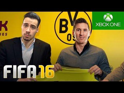 MESSI A CAMINHO DO DORTMUND !!? - FIFA 16 - Modo Carreira #118 [Xbox One]