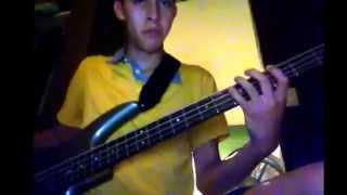 Aunque sea a escondidas(la fievre looka) cover bass