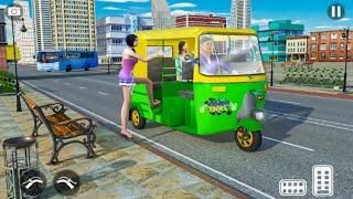 Auto Tuk Tuk Rickshaw Driving Simulator - City Mountain Auto Game - Best Android Game screenshot 4