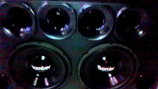 """2 Bomber PapaTrío 12"""" + Powerpack 4000W [CETREL AUTO SOM]"""