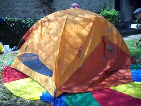 Ten Minute Tent Marmot Limelight 3P Backpacking Tent Pitch 3/19/10 - YouTube & Ten Minute Tent: Marmot Limelight 3P Backpacking Tent Pitch 3/19 ...