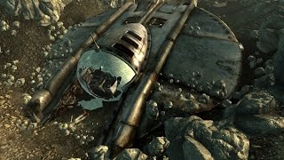 Fallout 3 - Alien Spaceship (LOCATION)