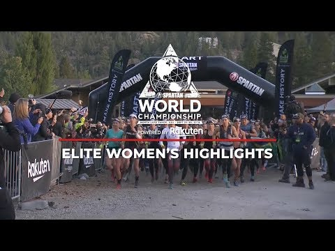 Spartan World Championship 2018 Women's Elite Highlights