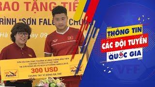 U19 Việt Nam được tiếp lửa trước thềm vòng chung kết u19 Châu Á   VFF Channel