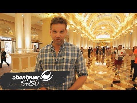 Kai Böcking testet das Zockerparadies Macau in China | Abenteuer Leben | kabeleins
