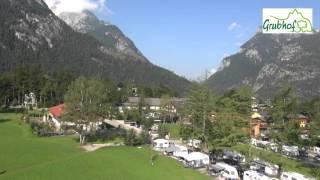 Camping Grubhof aus der Luft