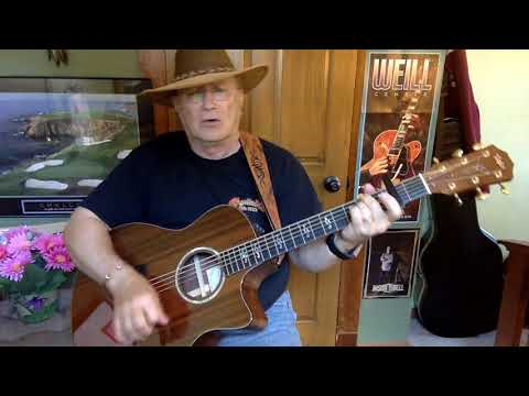 567b  - Travelin Man -  Ricky Nelson cover -  Vocal -  Acoustic guitar & chords