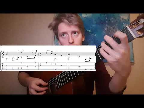 Visa från Utanmyra (Emigrantvisan) - Guitar Tab