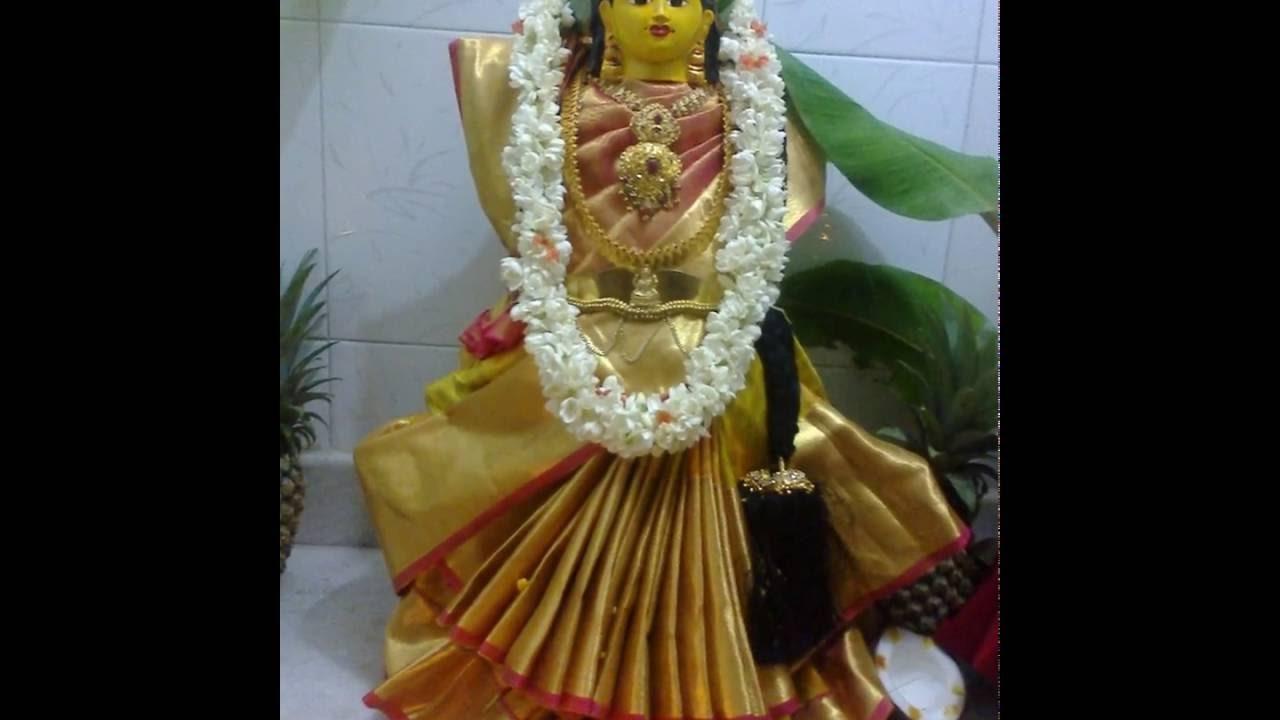 Varamahalakshmi Decoration Youtube
