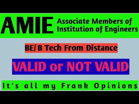 AMIE Valid or Not