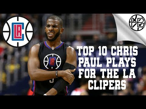 Chris Paul's Top 10 Plays For The Los Angeles Clippers | Hoop Bro's