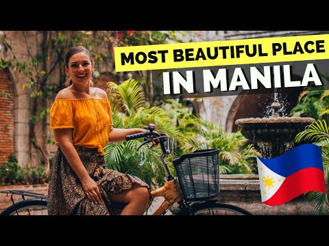 INTRAMUROS MANILA - the MOST BEAUTIFUL place IN MANILA