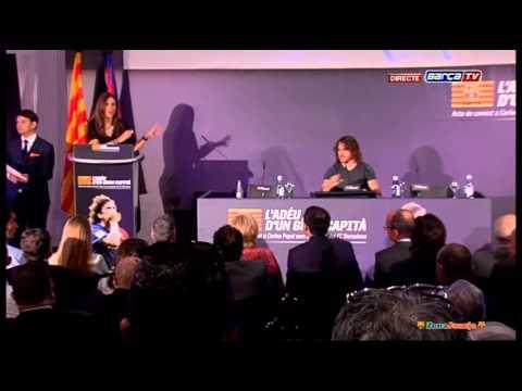 Carles Puyol - Despedida de un capitán [15-05-2014]