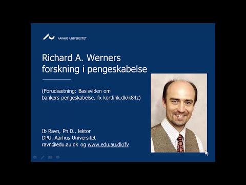 Richard A. Werners forskning i pengeskabelse