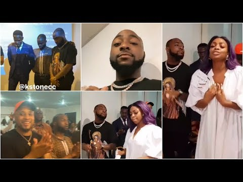 Davido In Full Worship Mode As He Goes To Church For New Year 2020 Thanksgiving | Quique Setien