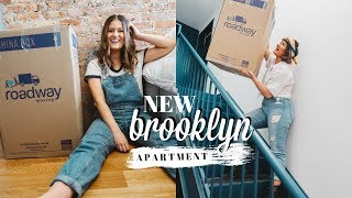 MOVING INTO NEW BROOKLYN APARTMENT | NYC Moving Vlog