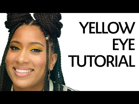 Yellow Eye Makeup Tutorial ft. Manny MUA's Lunar Beauty Life's A Drag Color Palette | Sephora thumbnail