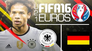 The final! -  fifa 16 euro u21 youtuber tournament vs rich leigh