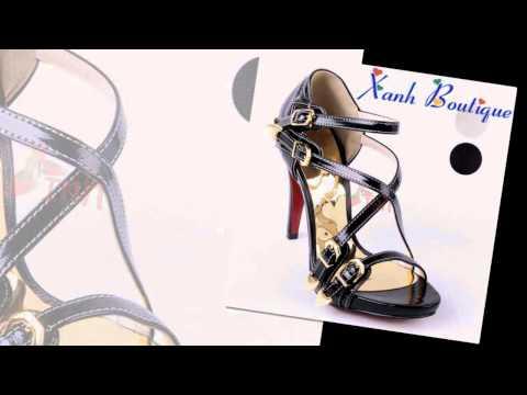 10 mẫu giày cao gót đẹp nhất