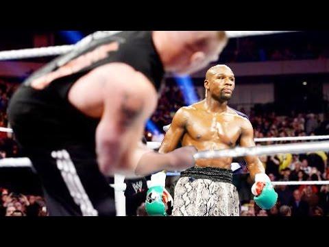 Brock Lesnar Returns to Challenge Floyd Mayweather