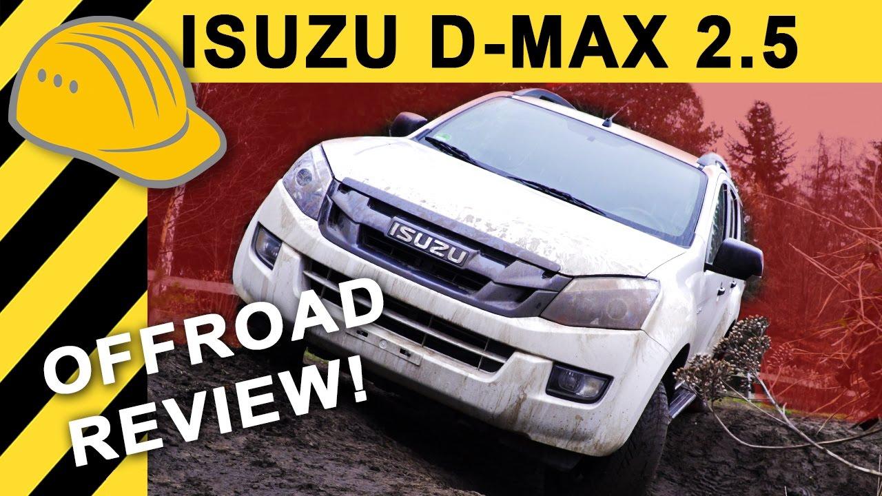 pickup zum sparpreis? isuzu d-max test i offroad & full review