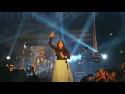 Cham Cham Song Live Performance By  Monali Thakur In ISI