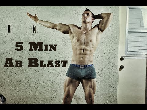 BEST 5 Minute Home Ab Routine (Workout) | Brendan Meyers