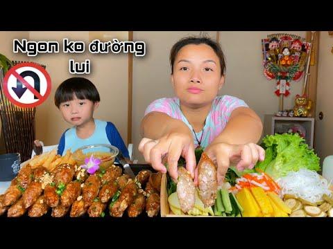 Download Lạ miệng nem sụn nướng kiểu Nha Trang phiên bản mới giòn rụm cùng nước chấm ngon ơi là ngon #1048
