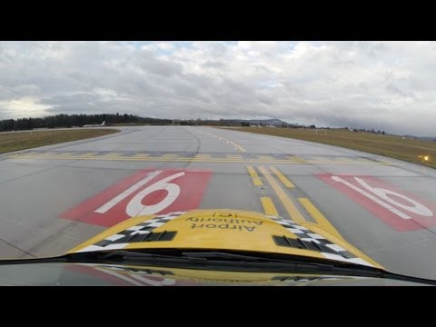 Runway inspection - Out and about with Zurich's Airport Authority