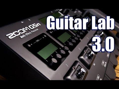 Zoom G5n Atualização Guitar Lab 3.0 | Luigi Piovesan