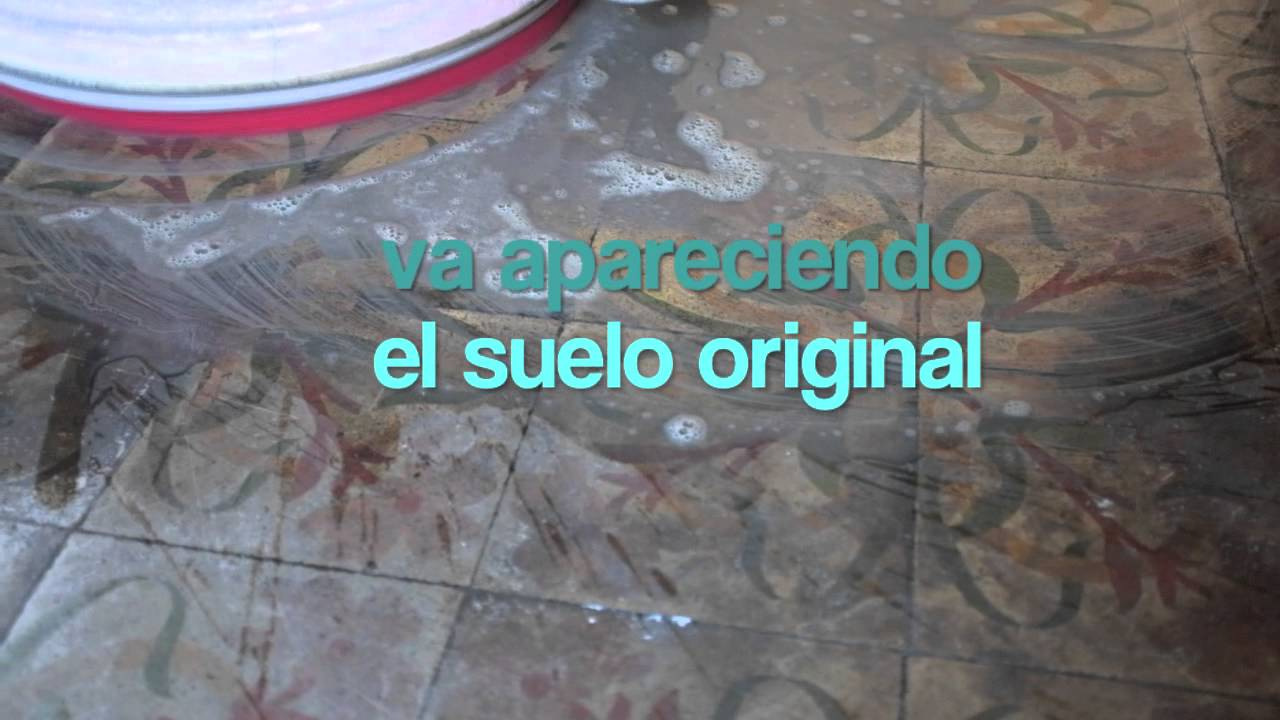 Suelo modernista de baldosa hidr ulica en barcelona youtube - Baldosa hidraulica barcelona ...