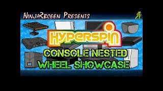 Hyperspin Demo-Consoles Nested Wheel Showcase